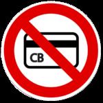 pas de cartes bancaires